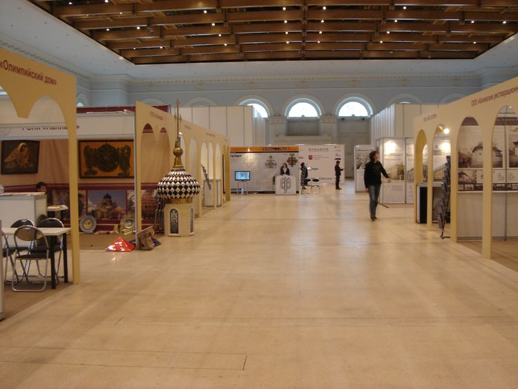 НПП Фотограмметрия на выставке DENKMAL-Москва 2011
