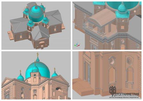Обмерные работы: Церковь Вознесения Господня. Бельское устье