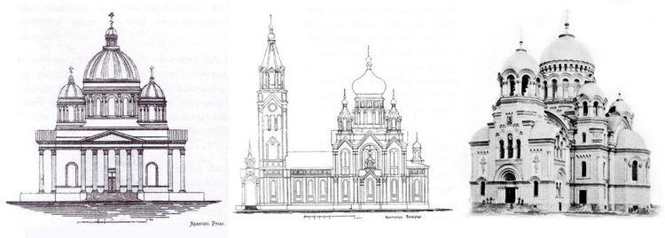 проекты Вознесенского собора