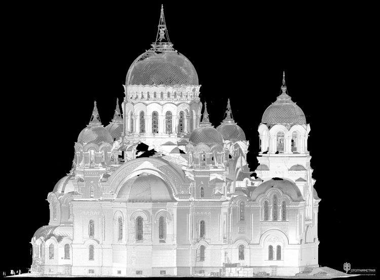 лазерное сканирование:: облако точек :: кафедральный собор