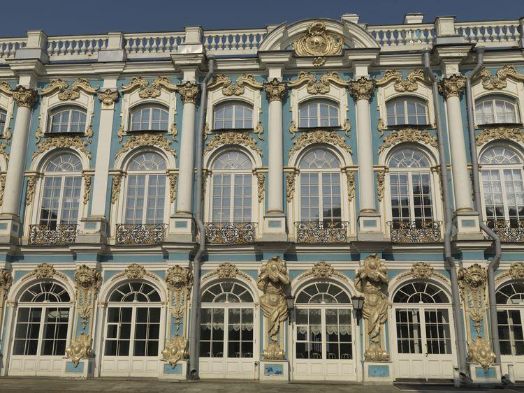 Архитектурные обмеры Екатерининского дворца в г. Пушкин