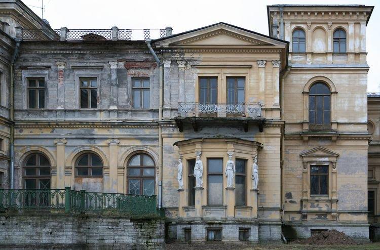 Архитектурные обмеры: Дворцово-парковый ансамбль «Михайловская дача»