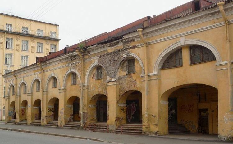 Архитектурные обмеры: Никольский рынок