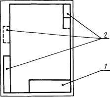 для формата больше А4 при расположении основной надписи вдоль короткой стороны листа