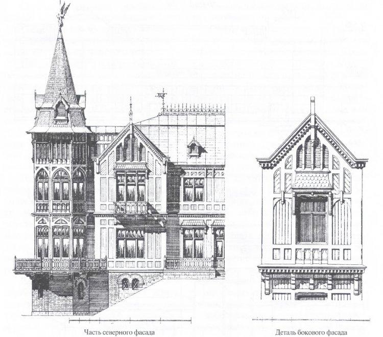 Как оформить чертеж фасада здания