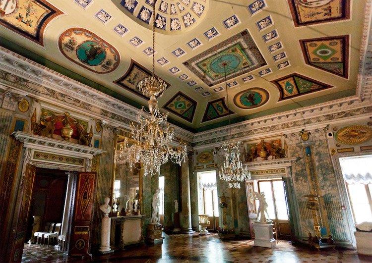 Архитектурные обмеры: усадьба Останкино, конец XVIII века