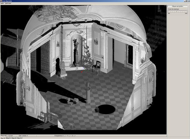 Архитектурные обмеры: Конюшенная площадь, дом №1