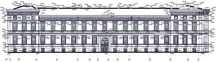 Архитектурные обмеры: Крюковы (Морские) казармы