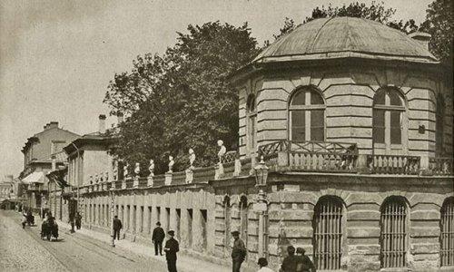 Архитектурные обмеры: Дворец Бобринских