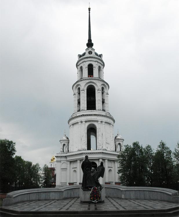 Архитектурные обмеры: Колокольня Воскресенского собора