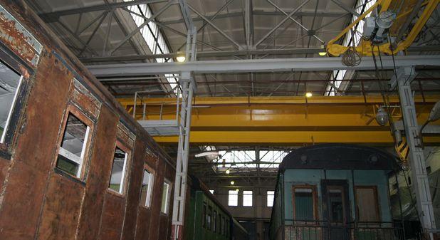 Обмерные работы: Депо музея Октябрьской железной дороги