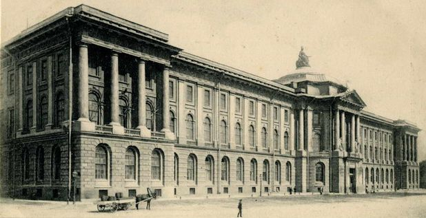 Архитектурные обмеры: Академия Художеств