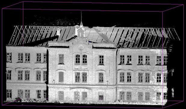 Архитектурные обмеры: Главный производственный корпус  карточной фабрики