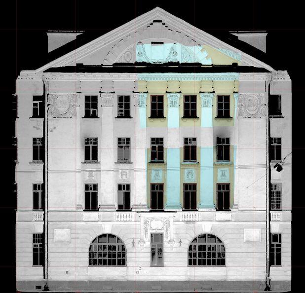 Архитектурные обмеры: ул. Барочная 12
