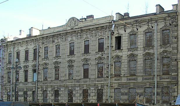 Обмерные работы:  Невский проспект, 59