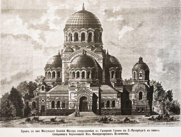 Архитектурные обмеры  храма во имя иконы Милующей Божией Матери